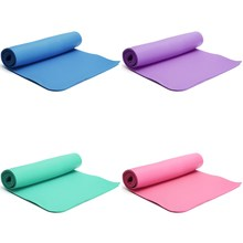 10mm Thickness Foldable Lose Weight Gym Training Yoga Mat NBR Yoga Pads Exercise Mat For Fitness Yoga Pilates 183x66x1cm