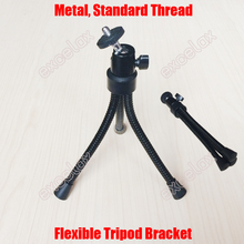 Metal Octopus Flexible Tripod Bracket Adjustable Metal Stand Holder Support for Digital & CCTV Camera Demonstration