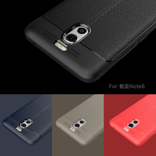 Buy Fashion Luxury Shockproof Soft TPU Silicon Case Meizu M5S M5 Note Case Leather Design Cases Meizu M6 Note Pro 7 Cover for $2.50 in AliExpress store