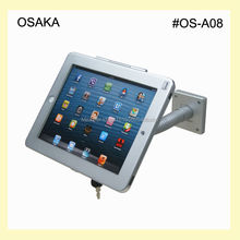 "for iPad wall mount  with safety specialized frame display on retail store table top lock mounting for 9.7"" ipad 2/3/4/ air/pro"