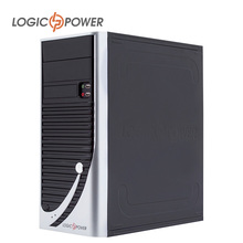LOGIC POWER desktop computer  case New Arrivals 80mm FAN, CD-ROMx2, HDDx8, FDDx1, PCIx7, USBx2, AUDIO In / Out