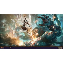 Custome Print 2MM Thick Table Pad MGT Elspeth Fighting With Monsters MGT Board Games Cards Playmat(China)