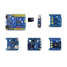 XNUCLEO-F103RB Pack B STM32 Development Board + 3 Shields (OLED, RTC, AD/DA, Audio Codec ...) + ST LINK Compatible with NUCLEO