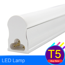 LED Tube T5 Light 600mm LED Fluorescent Wall Lamp 10W Integrated Cold Warm White AC165~265V Home Lighting Ampoule SMD 2835 Light