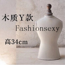 Necklace Pendant Women Lady Girl Beauty,Necklace Display Pedestal Chain Holder Bust Jewelry Showcase Stand,Freeshipping,M00379Y(China)