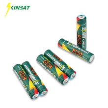 KINBAT 6pcs 380mAh 1.2V AAA Ni-CD Rechargeable Battery AAA Pre-Charged NICD Batteries Pack For Toys Microphone Remote Controls(China)