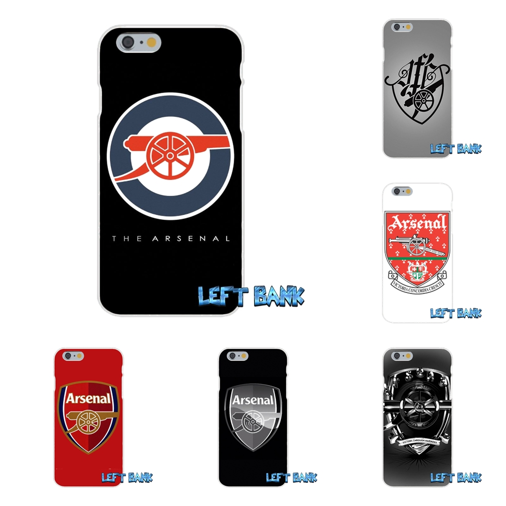 Arsenal Football Club FC Logo Slim Silicone Phone Case Motorola Moto G LG Spirit G2 G3 Mini G4 G5 K4 K7 K8 K10 V10 V20