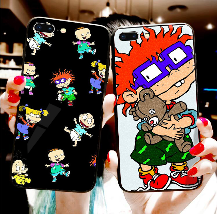 Rugrats Amazing new arrival phone case cover for Apple iPhone 8 7 6 6S Plus X 5 XS XR XS MAX Cover for samsung s6 s7 s8 s9 plus(China)