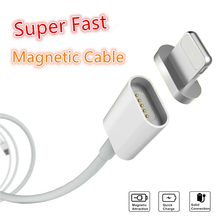 2.4A Magnetic Cable For iPhone 6 6s 7 Plus 5s 5 Lighting Micro USB Cable Magnet Charger Cable Data Charging Charge Accessories