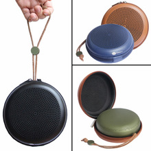 PU Zipper Pouch EVA Hard Portable Travel Carry Case Bag Laser Drilling For BeoPlay A1 Wireless Bluetooth Speaker 3 Colors