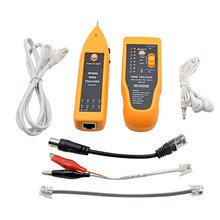 Original WH806B Telephone Wire Tracker LAN Cable Tester for STP UTP Cat5 Cat6 RJ45 RJ11 BNC Metal Line Finder Sequence Testing(China)