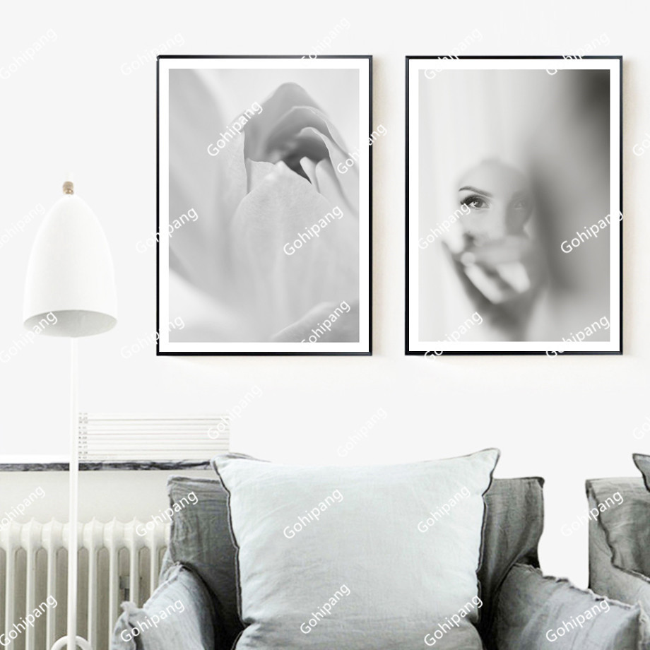 Abstract-Flower-Girl-Nordic-Posters-And-Prints-Wall-Art-Canvas-Painting-Retro-Poster-Pop-Art-Wall (1)