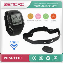 5.3kHz Heart Rate Chest Belt Steps Calories Counter Sports Activity Tracker Wristband Pedometer