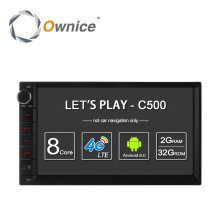 Ownice C500  Android 6.0 Octa Core 2 din Universal For Nissan GPS Navi BT Radio Stereo Audio Player(No DVD) Build-in 4G Moudule