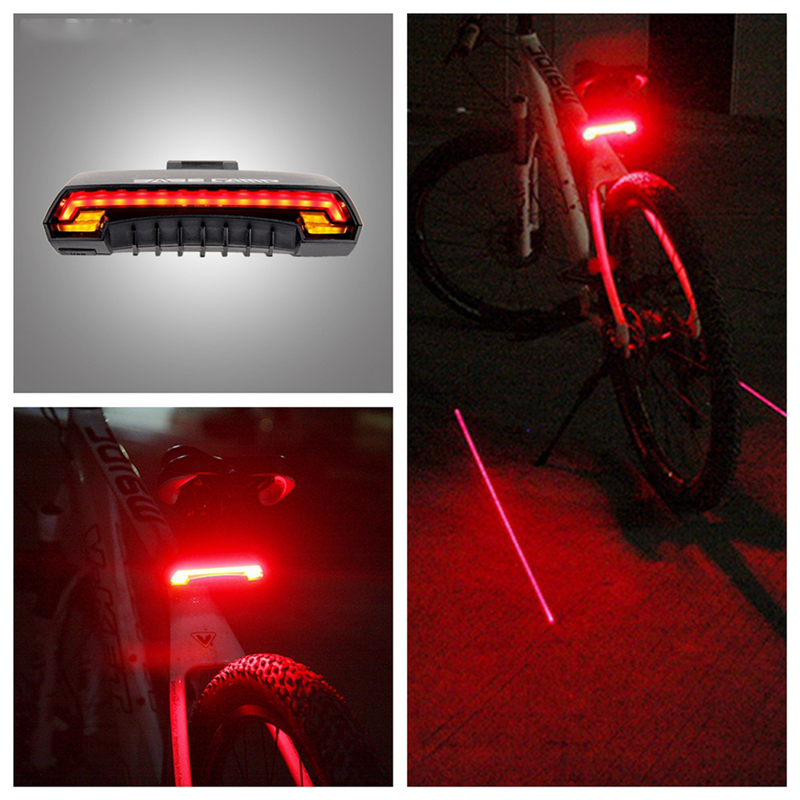 Portable LED Bike Taillight MTB Smart Wireless Remote Control Safety Cycling Lamp Warning Bicycle Rear Seat Light Bicycle Light <br><br>Aliexpress