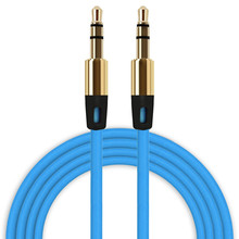 3.5mm to 3.5 mm Jack Auxiliary Cable Audio Cable Male To Male Flat Aux Cable tereo Auxiliary Cord for Phone Car Speaker