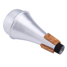 Aluminium Straight Trumpets Mute For Jazz Instrument Practice Beginner Hot Sale