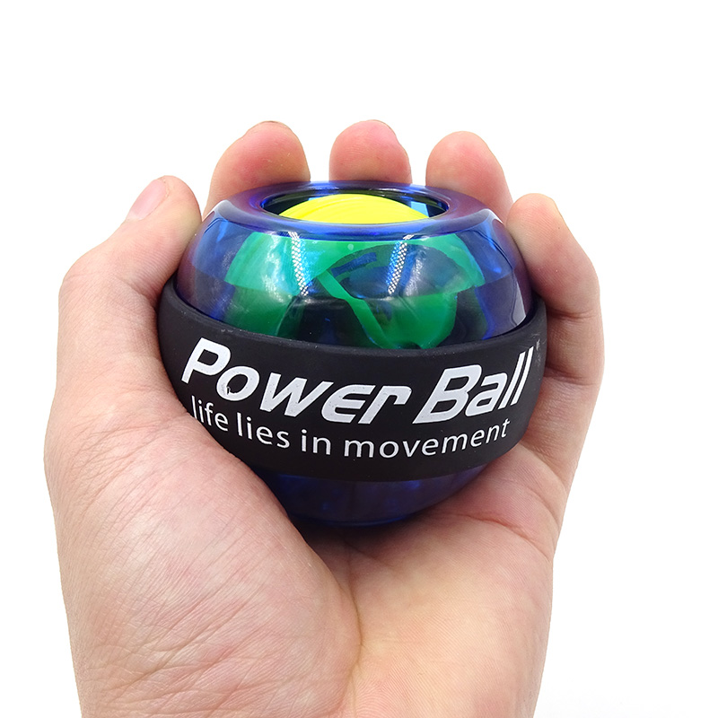 LED Wrist Ball Trainer Gyroscope Strengthener Gyro Power Ball Arm Exerciser  Exercise Machine Gym power ball Fitness Equipment Power Wrists  - AliExpress