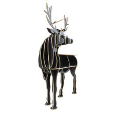 Creative Nordic European side table style turned deer European-style home decoration Hotel restaurant bar shelves free shipping
