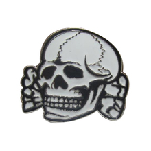 Punk Cowboys Belt Buckles Metal White Skull X Logo Boy and Girl Waistband With Good Plating Women and Mens Belt Buckle Designer(China)