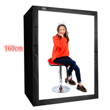 DHL TNT Professional 160cm Photo Tent Suit for Fashion Portrait Softboxe Photography Camera Equipment Softbox Photo Studio box(China)