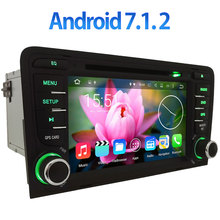 "2GB RAM 3G/4G WIFI 7"" Android 7.1.2 Car DVD Radio Player Stereo for Audi A3 S3 RS3 2003 2004 2005 2006 2007-2011 GPS Navigation(China)"