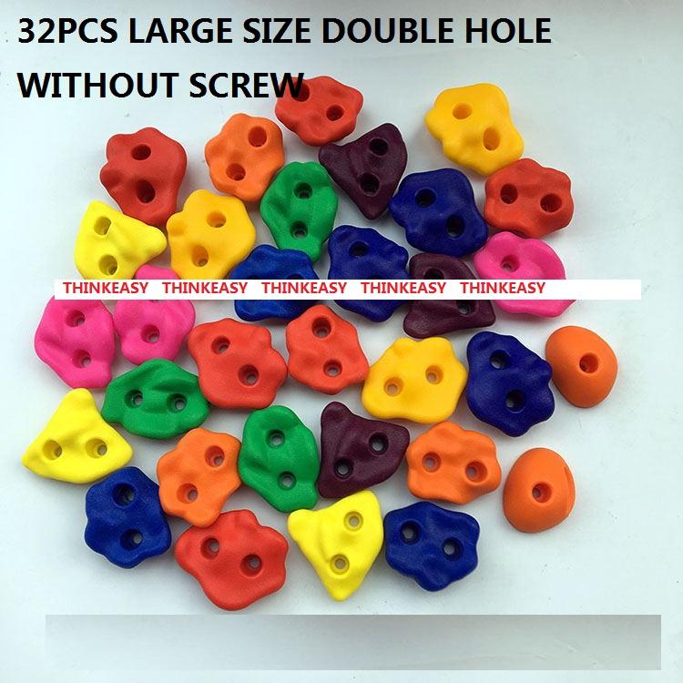 HTB1dh5WRXXXXXb2apXXq6xXFXXXk - 16 to 32 PCS / SET Plastic children Rock Climbing Wall Rock Stones Kids Toys Sports tool outdoor game kindergarten Without scre