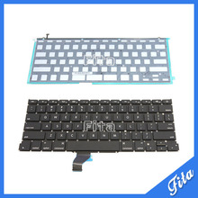 "New For Apple Macbook Pro Retina 13"" A1502 Keyboard Replacement with Backlight ME864 ME865 ME866 US Laptop Keyboard(China)"