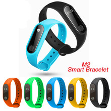 2017 Newest M2 Bluetooth Smart Band Fitness Tracker Band Life Waterproof Message Call Reminder Wristband for Xiaomi Android iOS