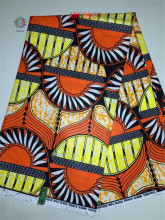 China supplier Nigerian printed wax fabric African wax cotton material for patchwork sewing(China)