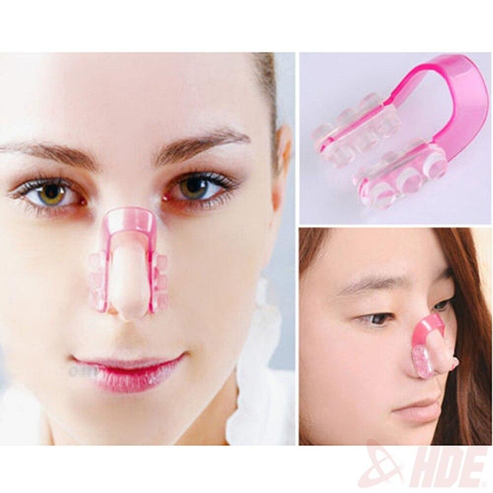 Зрительно уменьшить нос макияж фото