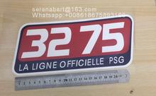 PU Material Ligue 1 3275 Sponsor Patch Soccer Patch Badge
