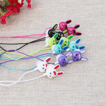 Hot Cute Cartoon Rabbit Shape Earphone In Ear Head Phones Headset Ecouteurs Auricolari Casque Audio Ear Buds Rabbits Earphones