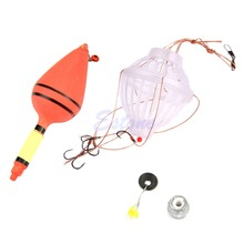 Carp Fishing Tackle Float Sea Monsters Bobber With Six Strong Explosion Hook Set