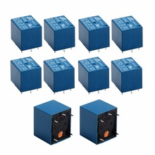 2/5/10pcs Mayitr Mini Relay 3V DC 10A High Current SRD-3VDC-SL-C PCB Type Power Relays 18*15*15mm Electrical Supplies