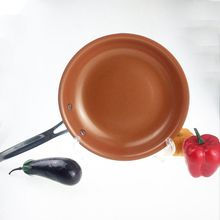 Non-stick Copper Frying Pan with Ceramic Coating and Induction Cooking Oven & Dishwasher Safe 10 Inches