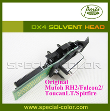 Mutoh RockHopperII(RHII)/FalconII/ Spitfire/ToucanLT printer head DX4 solvent Printhead (Get 2pcs DX4 Small Damper free)
