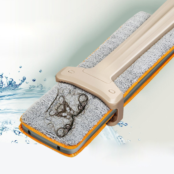 Self-Wringing Double Sided Flat Mop 3