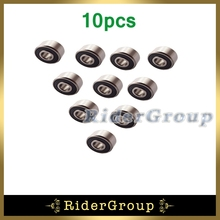 10pcs Rubber Sealed Ball Bearing 6200 RS 12x32x10mm For Pit Dirt Trail Bike Motorcycle Motocross ATV Quad 4 Wheeler