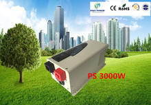 Free shipping very well stability 3000w  low frequency inverter, 12v, 24v 48v combined inverter, charger and UPS