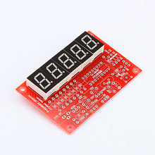 50MHz Crystal Oscillator Frequency Counter Tester DIY Kit 5 Digits Resolution Frequency Meters