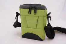 Green Camera Bag Case For Fujifilm FinePix LC-X10 X20 X30 XQ1 XQ2 X100T X100S  X100 F900 S4600 S4000 S3400 S3300 S2950 S2900