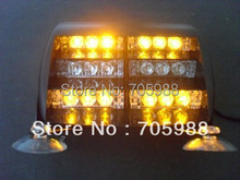 AMBER Super brightness 18 LED Emergency Vehicle Strobe Lights