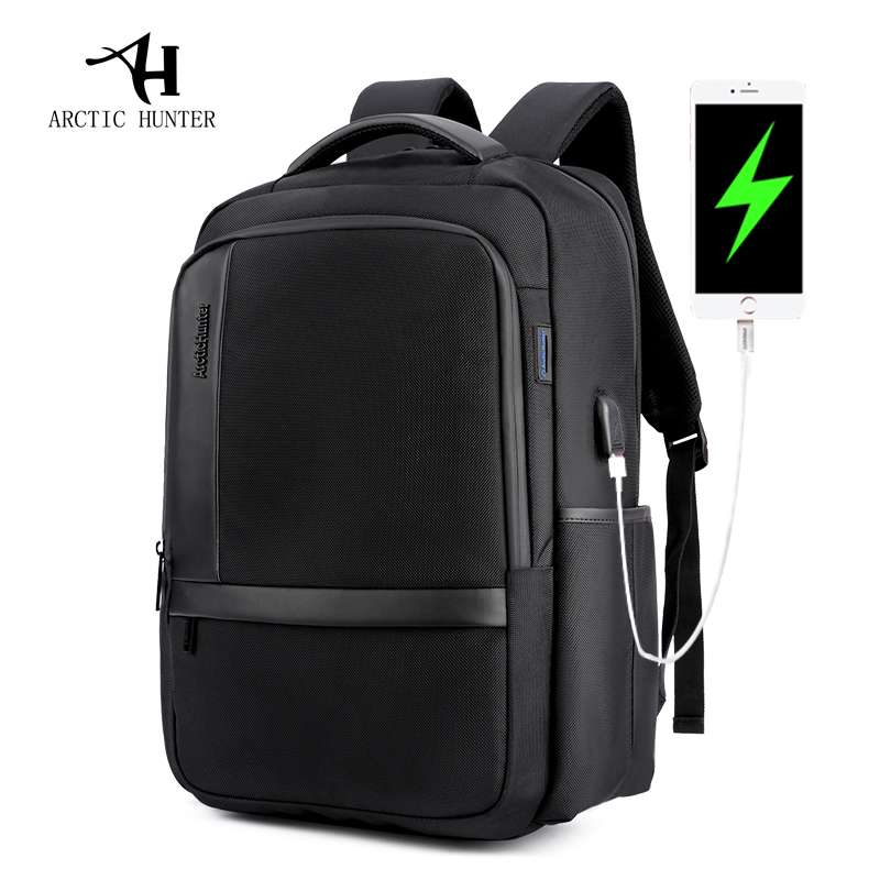 ARCTIC HUNTER Male  Waterproof 15.6inches Laptop Nylon Casual Business Mens Computer Backpack Shockproof Computer Compartment<br>