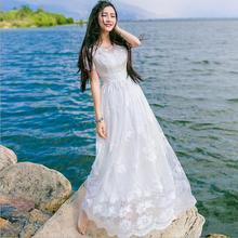 Buy Summer Dress 2017 Women Maxi Dress Vintage Embroidery Flowers Lace Long Dress Plus Size Women Clothing White Party Dresses for $53.68 in AliExpress store