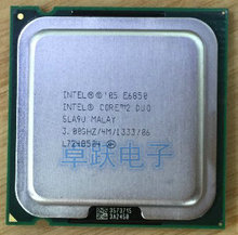 E6850 Desktop Computer Processor Intel Cpu dual core 2 Duo Cpu 3.0GHz 4MB/1333MHz LGA 775 scrattered pieces used