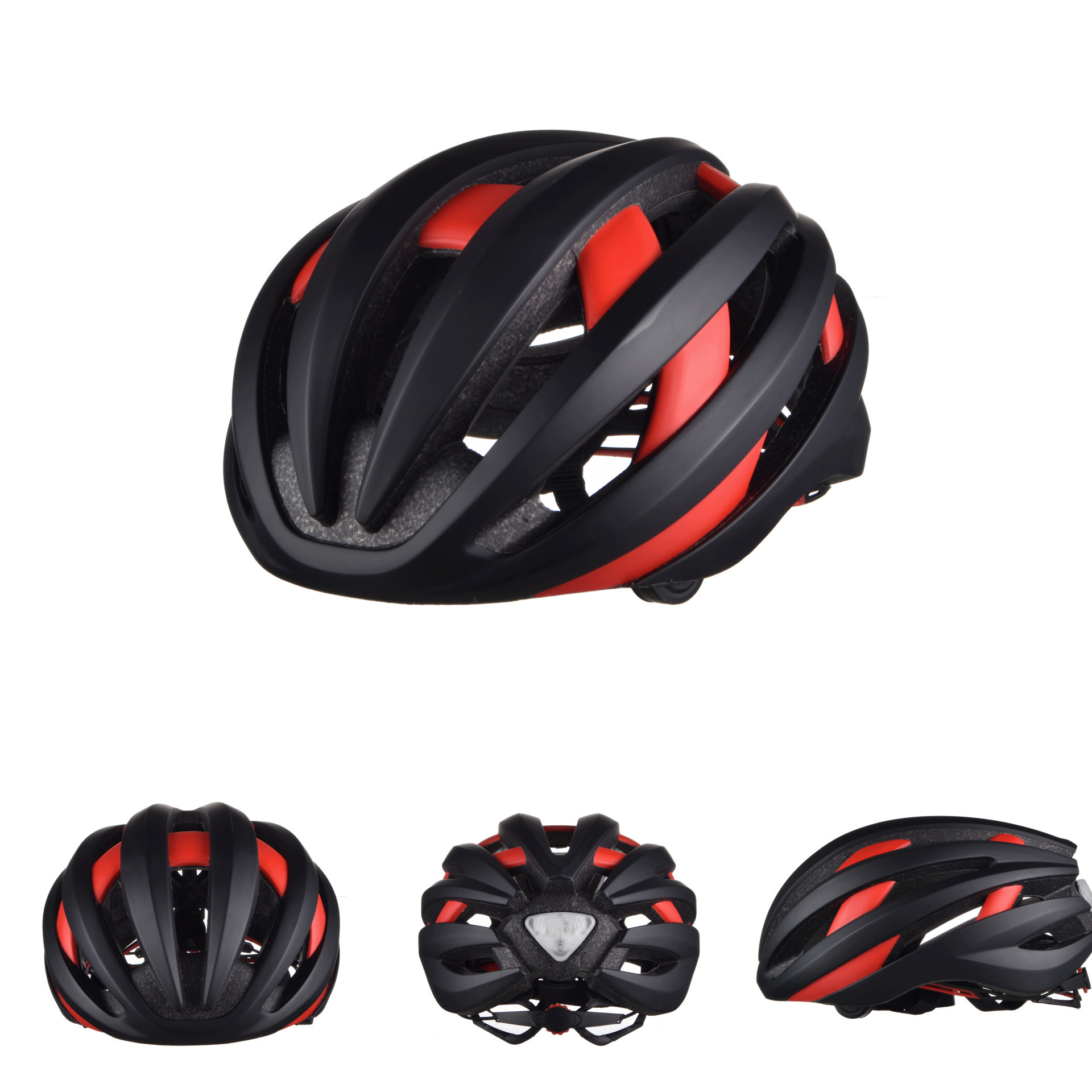 2017 new LED smart Integrally-molded Bluetooth helmet use in outdoor safety bicycle helmet<br>