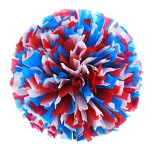 1pcs first single paragraph Christmas cheerleader pom poms Cheerleading(China)