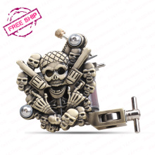 Professional Tattoo Guns Dragonhawk Relief Tattoo machine Liner And Shader Tattoo Supply(China)