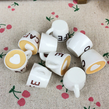 Buy 10Pieces Flat Back Resin Cabochon Fake White Cafe Cup DIY Flatback Embellishment Accessories Scrapbooking Decoration:20*25mm for $2.65 in AliExpress store